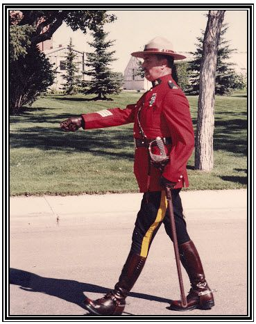 RCMP Sergeant Major Terry Lewis