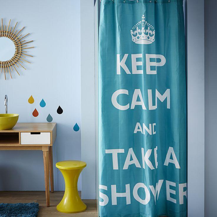 Les 133 meilleures images du tableau la salle de bain sur - Rideau de douche tableau periodique ...
