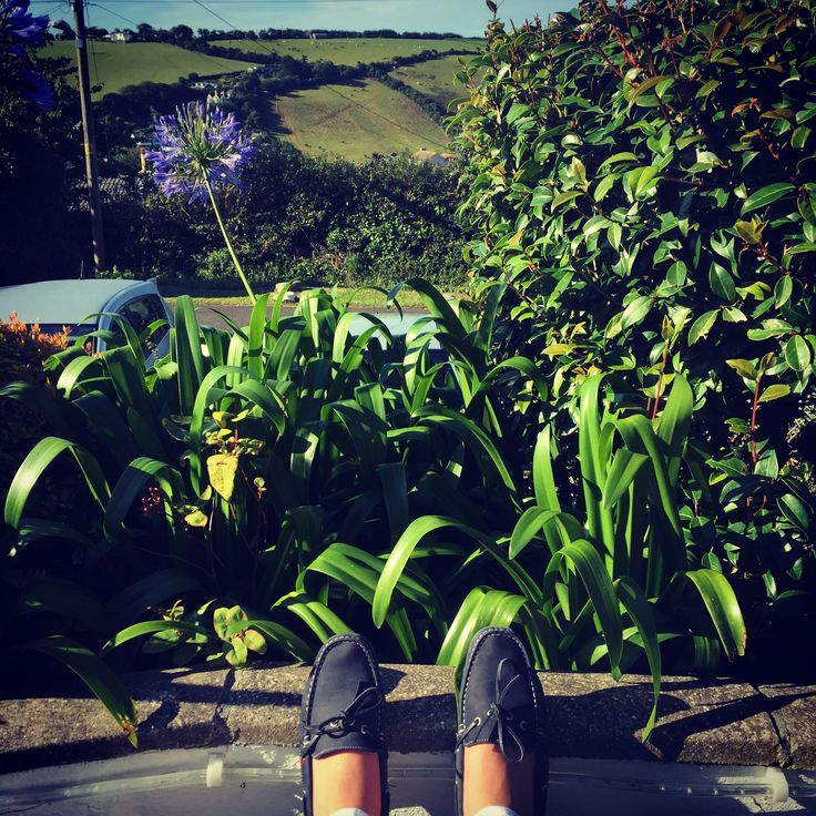 Relaxing at the Hotel Cornwall