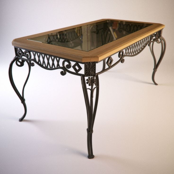 Superior Decorative Iron Table Base   Nice Design