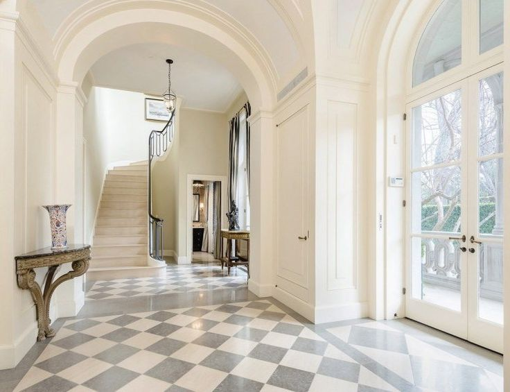 Mansion Front Foyer : Images about comings goings home entry and exit