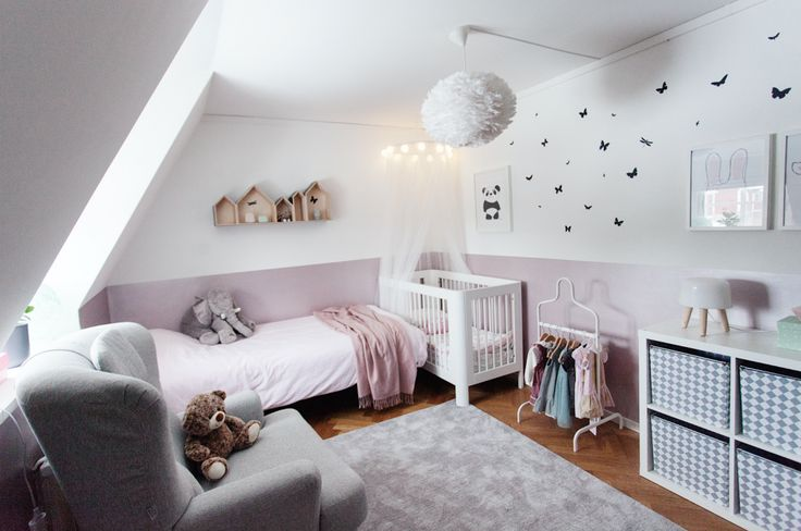 Cozy for a little girl | Find some of the interior at www.jollyroom.se | #jollyroom