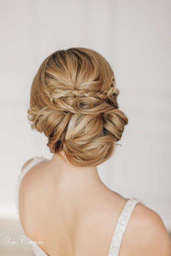Gorgeous braided chignon ~ Steal-Worthy Wedding Hairstyles   bellethemagazine.com