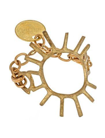 Trendy Jewelry | Twisted Silver | Celebrity Jewelry | Funky Jewelry - Aztec bracelet