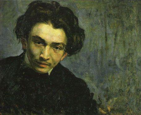 On ne peut pas séparer le judaïsme (culture, religion) de la judéité (essence juive) - [Portrait de jeune homme (Samuel Hirszenberg, 1903)]