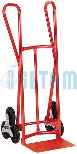 Diable escalier 3 roues charge 300 kg: Price:316.8 Diable d'escalier charge 300 kg 2 Roues bandage caoutchouc Ø 160 x 40 mm. Dimensions :…
