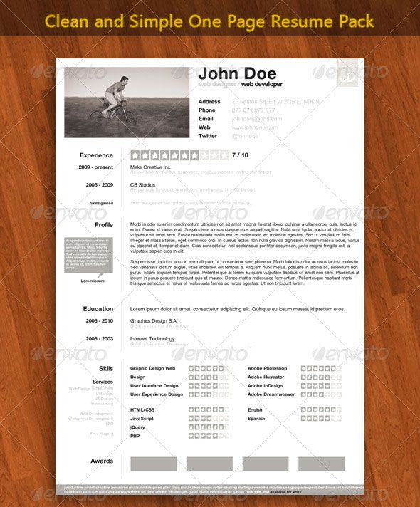 16 best images about Resume Design on Pinterest Format for - modern day resume