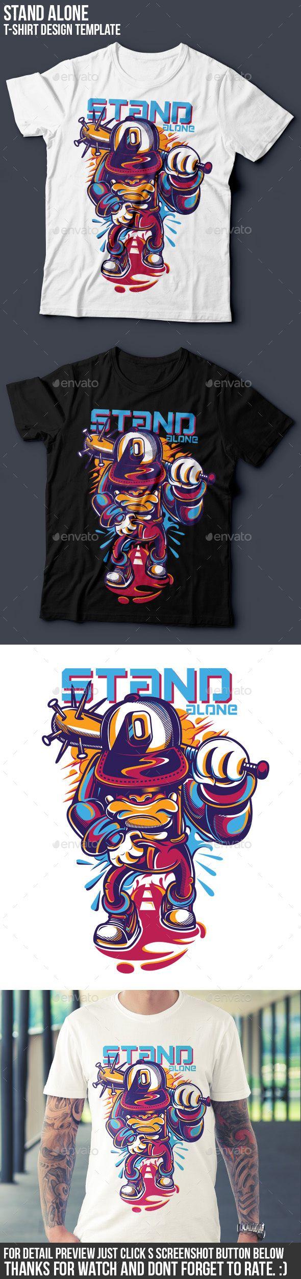 Shirt jack design template - Stand Alone T Shirt Design