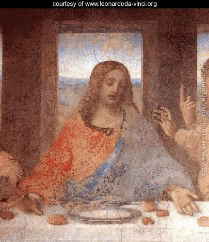 The Last Supper (detail2) - Leonardo Da Vinci - www.leonardoda-vinci.org