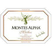 Montes Alpha Series Malbec 2011   Reviews: JS 91, RP 90