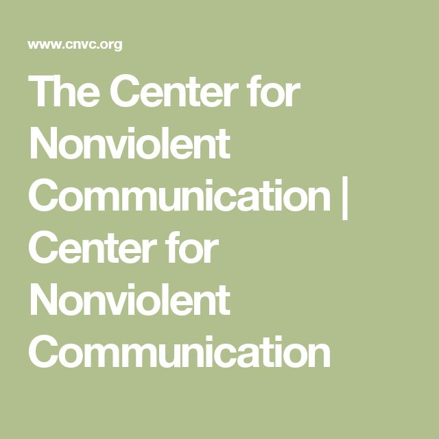The Center for Nonviolent Communication | Center for Nonviolent Communication