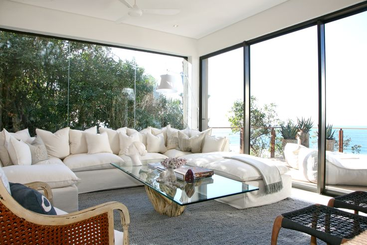 Michele Throssell Interiors > living room > ocean view > breezy