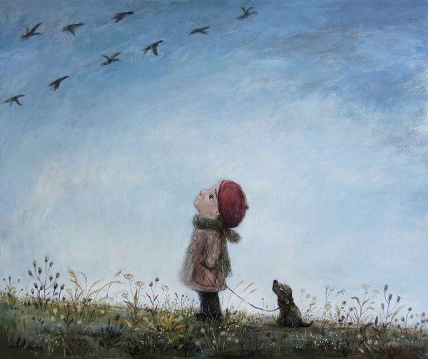 20 paintings by the artist Nino Chakvetadze, from which it becomes warm and cozy in my soul