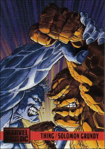Solomon Grundy vs The Thing