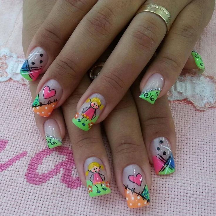 30 acrylic nail designs ideas 2015