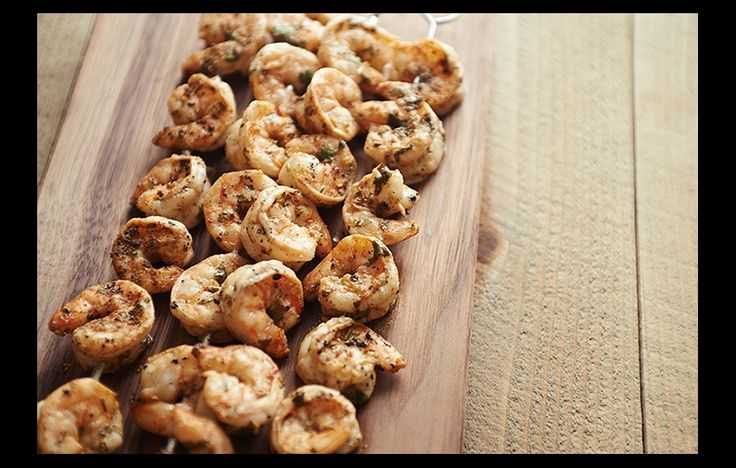 Grilled Shrimp with Cilantro-Lime Marinade