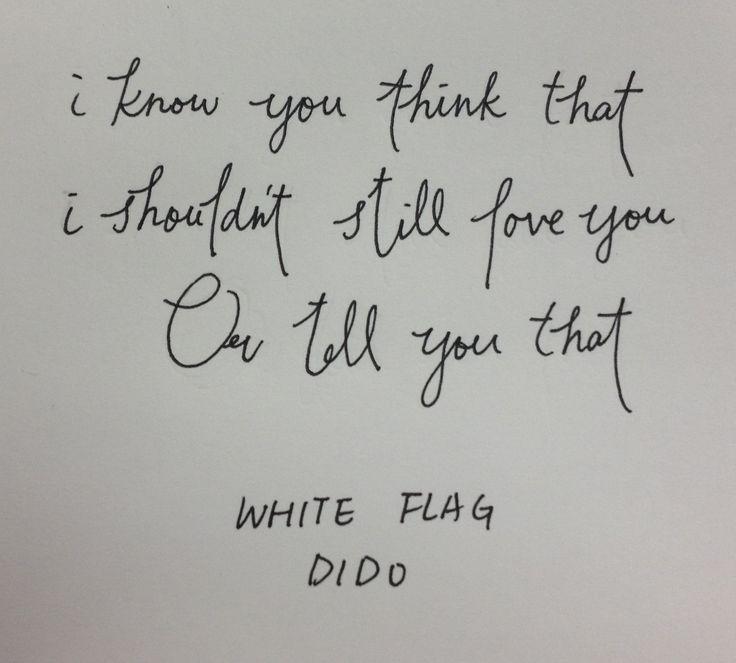 Dido - White Flag