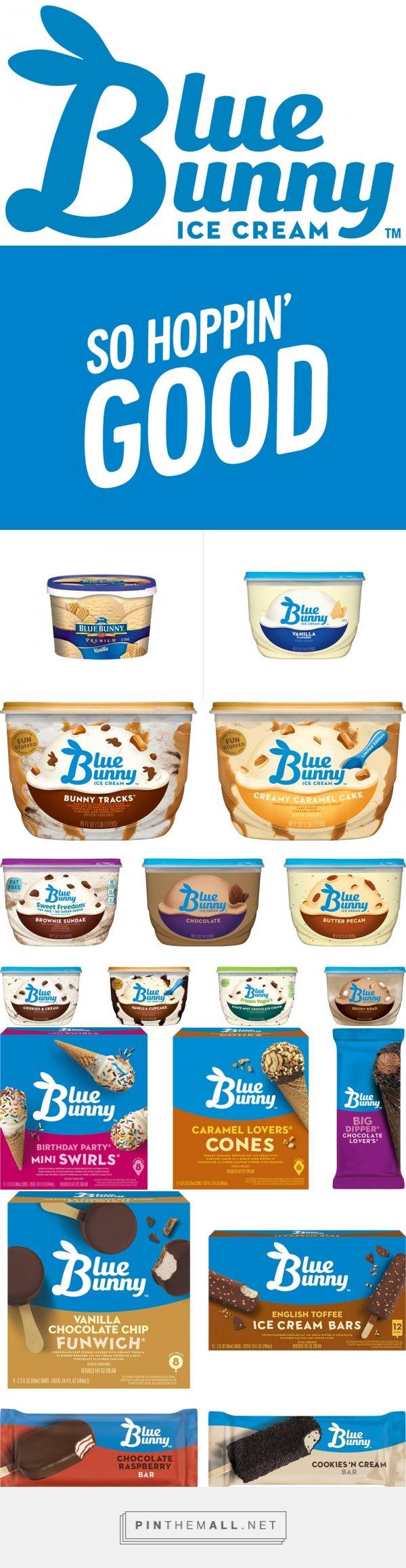 Blue Bunny Ice Cream - created via https://pinthemall.net