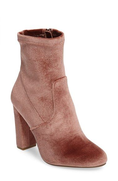 Free shipping and returns on Steve Madden Edit Bootie (Women) at Nordstrom.com. A subtly slouchy shaft and a streamlined design combine to create minimalist appeal for a block-heel bootie that's sure to be a wardrobe staple.