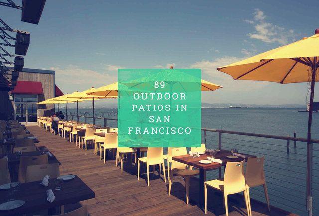89 patios in SF, sorted by neighborhood