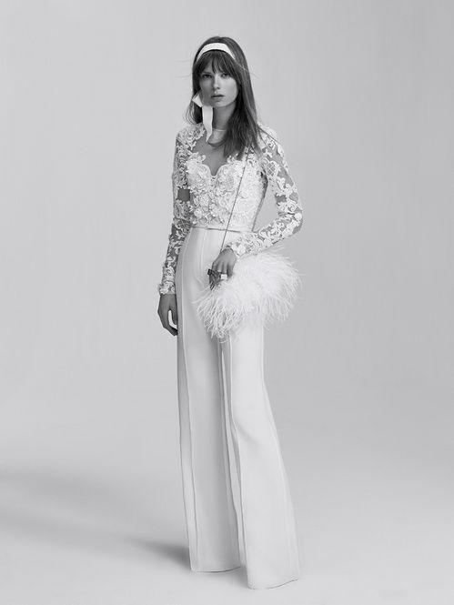 La combinaison de la première collection bridal d'Elie Saab