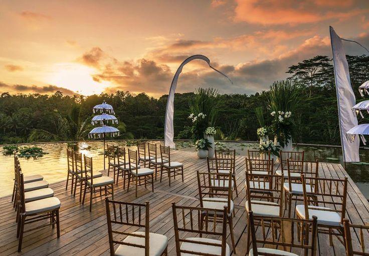 Wedding Ceremony Set up at Four Seasons Resort Bali