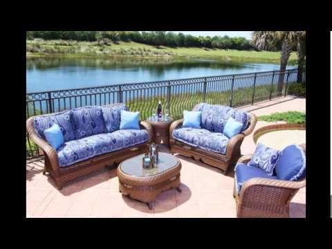 Wicker Patio Furniture | Resin Wicker Patio Furniture | White Wicker Pat.