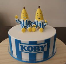banana in pyjamas cake - Google Search