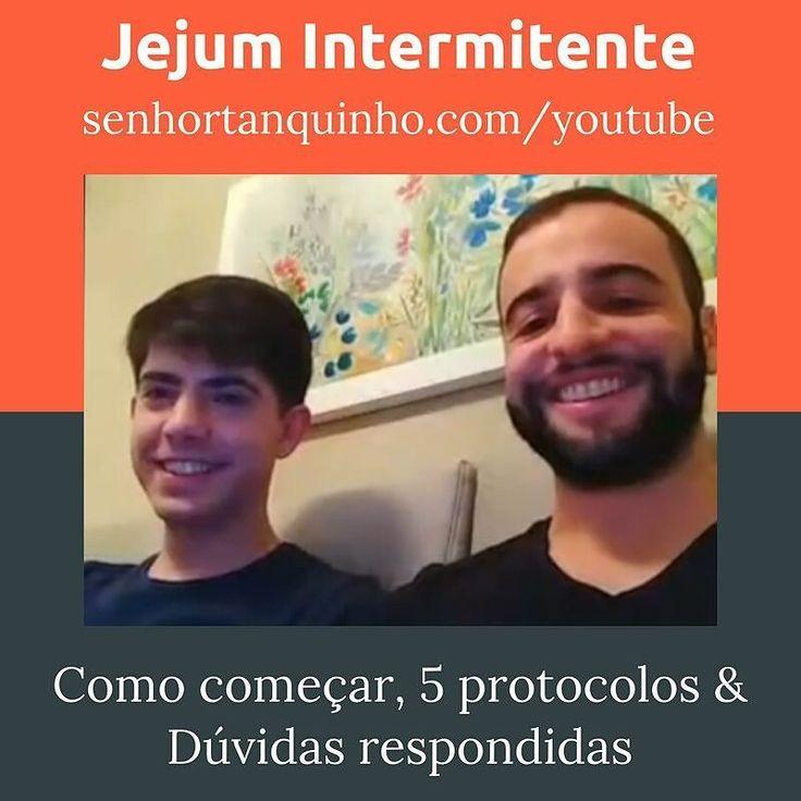 Tem vídeo novo no ar galera: http://ift.tt/1RxCWAS . Jejum Intermitente: Como começar 5 protocolos & Dúvidas respondidas . Gravamos nossa live no facebook e agora disponibilizamos para todo mundo assistir em: http://ift.tt/1RxCWAS . Assiste lá vai que sua dúvida tá lá respondida ;) . . #ji #jejumintermitente #protocolos #senhortanquinho #paleo #paleobrasil #primal #lowcarb #lchf #semgluten #semlactose #cetogenica #keto #atkins #dieta #emagrecer #vidalowcarb #paleobr #comidadeverdade #saude…