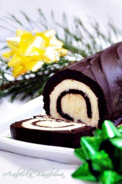 Rolada czekoladowa z kokosową nutą | Arabeska
