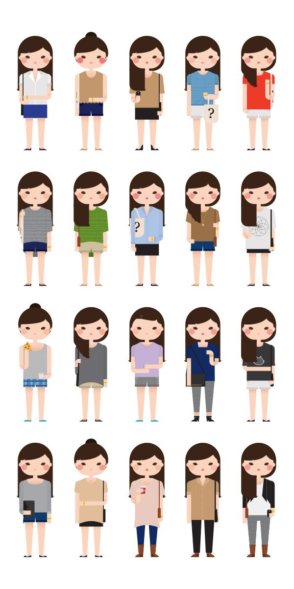 Modelos de formas de vestir chicas