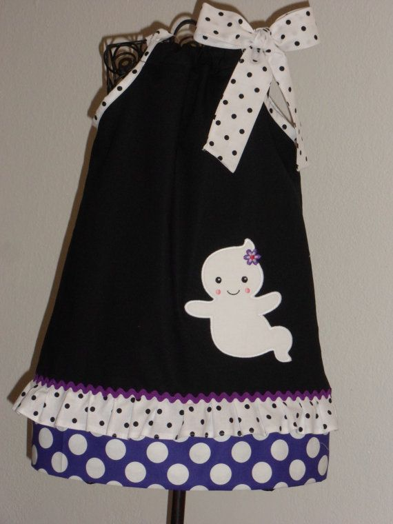 Beautiful Ghost Girl Halloween  Pillowcase Dress