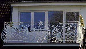 Balustrada balkonowa kuta wzór 5