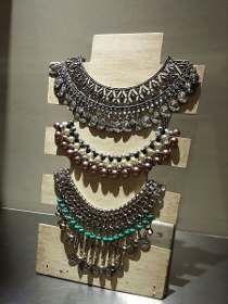 a2cb76722595 Exhibidor Para Collar Rustico Pallet Reciclado -   299