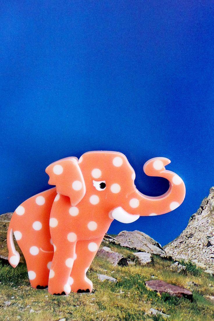 Erstwilder Brooch Alice the Elephant $29.99