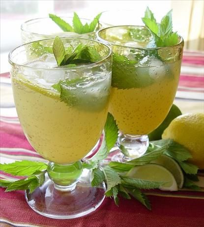 Vodka or rum, these are really refreshing #designsponge and would be nice at my brunch #dssummerparty