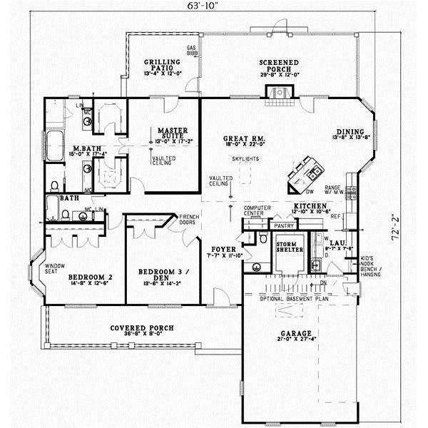 29 best 2000 to 3000 sq ft House Plans images on Pinterest | Home ...