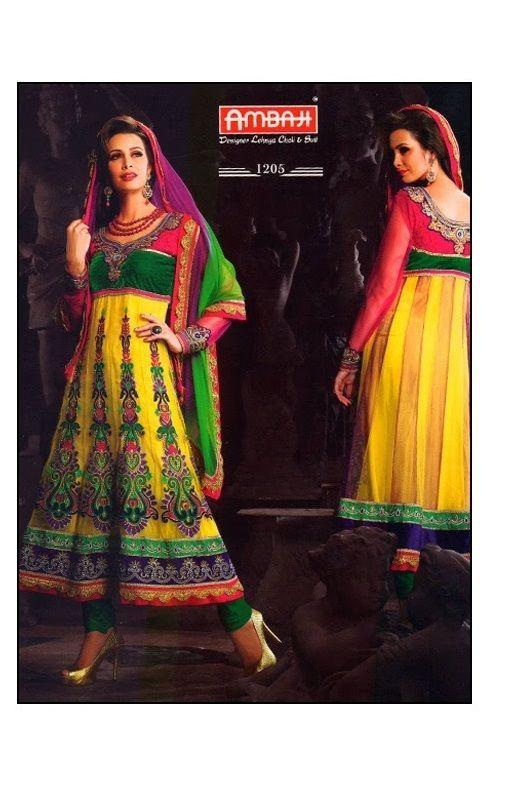 Indian Suit Kameez Ethnic Designer Bollywood Anarkali Salwar Dress Pakistani New #TanishiFashion