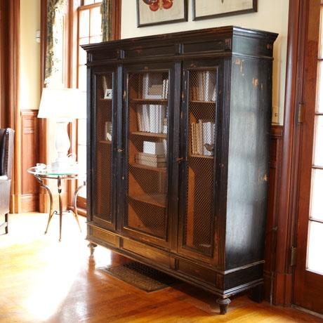 Beckett Large Cabinet (Arhaus_2299)... Fr ctry farmhouse...great as a bookcase!!! <3: China Cabinets, Large Cabinets, Arhaus Furniture, Cabinets Arhaus 2299,  China Closet, Home Offices Furniture, Living Rooms Furniture, Beckett Large, Classy Furniture