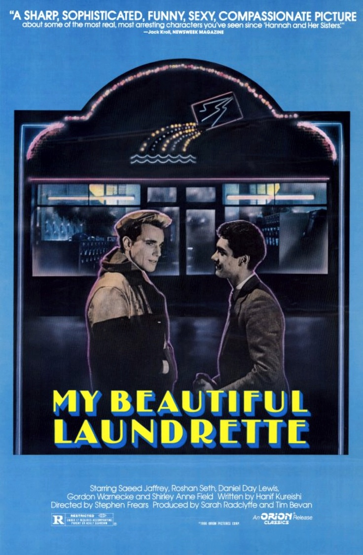 My Beautiful Laundrette - A brilliantly illustrated critique of the Thatcher years, and as well as a daring and risqué film about love, aspirations and prejudice. (9/10)