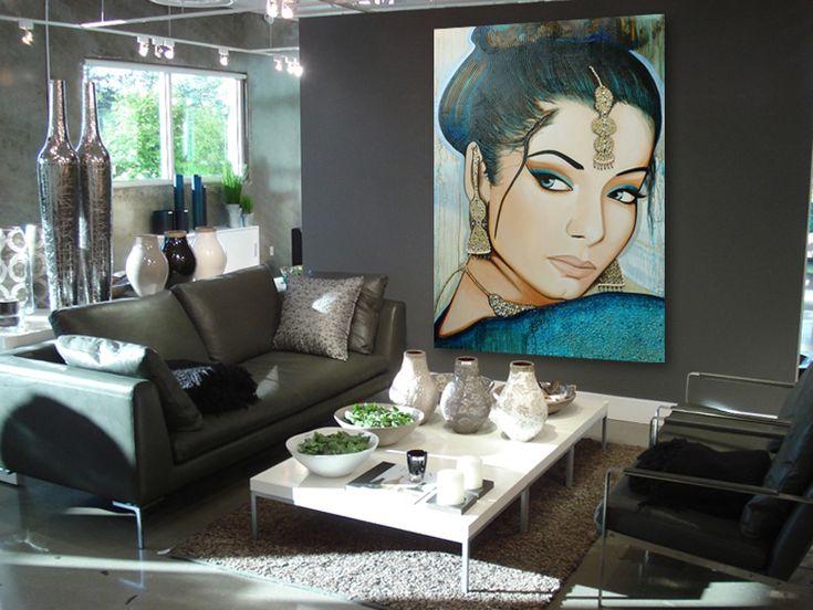 25 best Oosters schilderij kopen Oosterse schilderijen images on ...