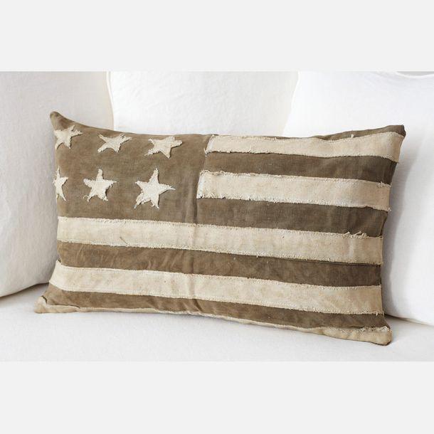 American Flag Canvas Pillow & 45 best Pillow Talk images on Pinterest | Pillow talk Throw ... pillowsntoast.com