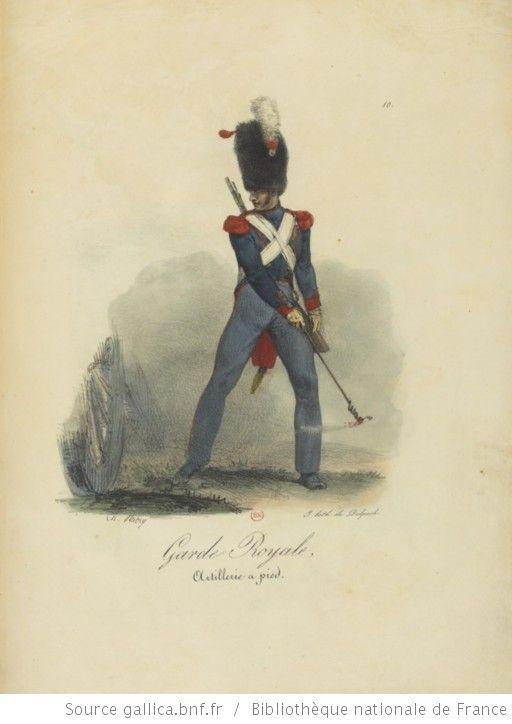[Maison du Roi et garde royale de Louis XVIII, 1817.] / Ch. Aubry - 15