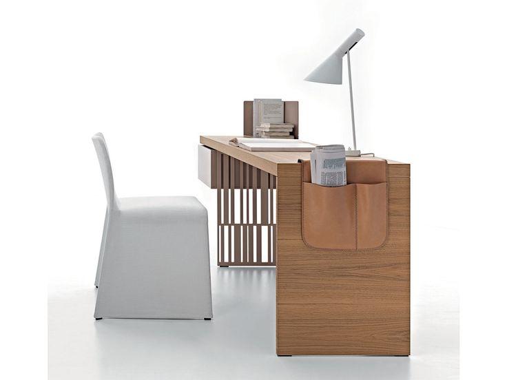 Wooden writing desk SCRIBA - MOLTENI & C.