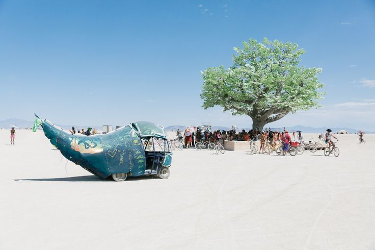 Beautiful Pictures from the 2017 Burning Man