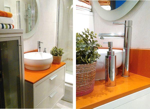 Cómo distribuir un cuarto de baño pequeño   Decorar tu casa es facilisimo.com