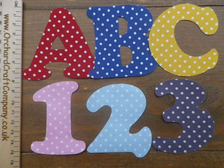 details about iron on fabric letters and numbers 75 cm 3 inch sets of 2 applique bunting
