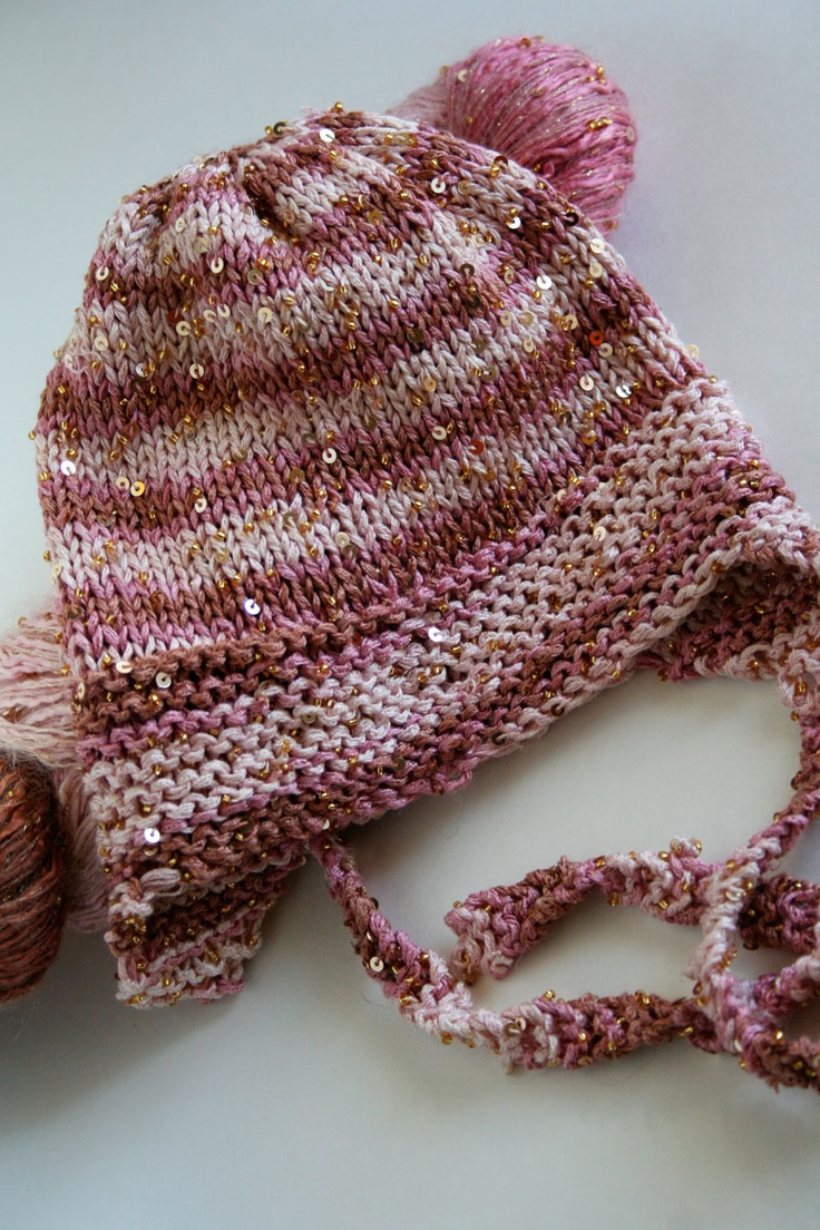 Knit Baby Hat Pattern Pinterest : Free Knitting Pattern Very Easy Baby Hat GORROS... Pinterest Yarns, Pat...