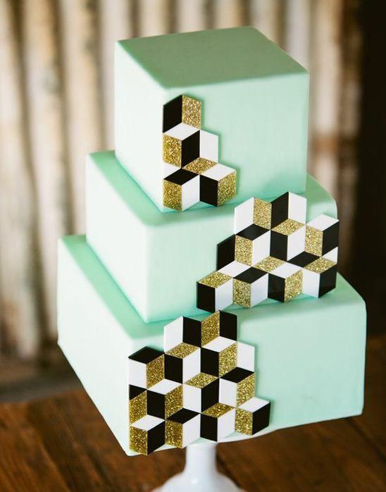 個性的!おしゃれな結婚式にピッタリ♡グリーンのウェディングケーキまとめ一覧♡