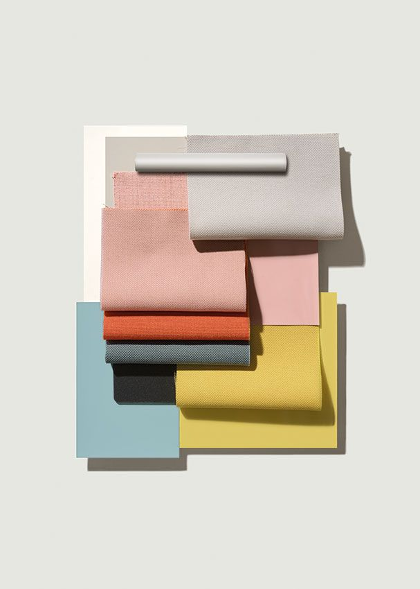 Arper celebrates the enduring potential of the Catifa family taking the bicolor customizations to a new level of contrast and curation. Originally designed in 2004 for contract and big space use, Catifa 46, new for 2016, will be available in an updated range of a soft yet complex palette: rosé, petrol, yellow, ivory and smoke. Any combination of these refreshed colors can be paired or contrasted with customizable seat pad, or interpreted as a monochrome statement. for Arper.